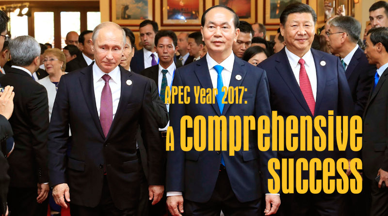 APEC Year 2017: A Comprehensive Success
