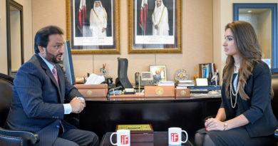 Dr. Khamis Rashid Al-Kaabi Consul General of Qatar Consulate General of the State of Qatar