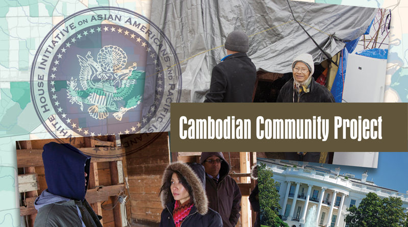 White House Visit Cambodian Community Project