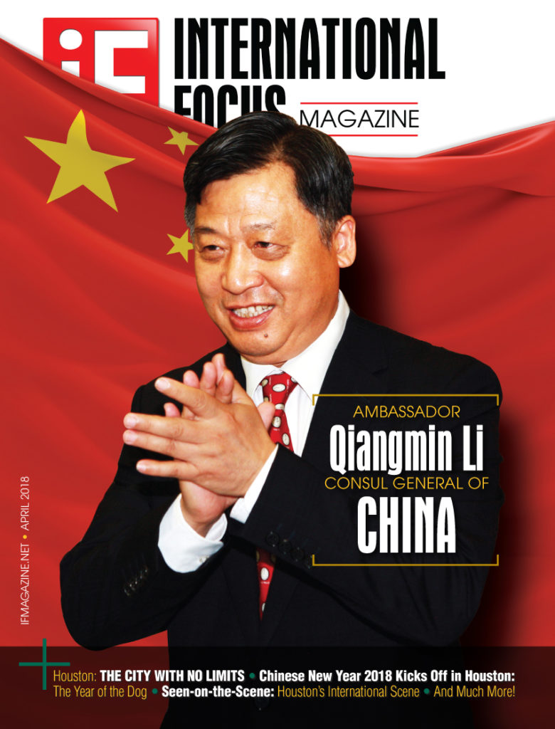 International Focus Magazine, China, Houston