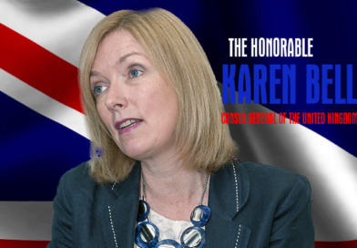 The Honorable Karen Bell, Consul General of The United Kingdom