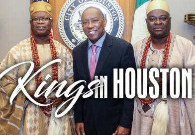 Mayor Turner Welcomes Kings of Nigeria