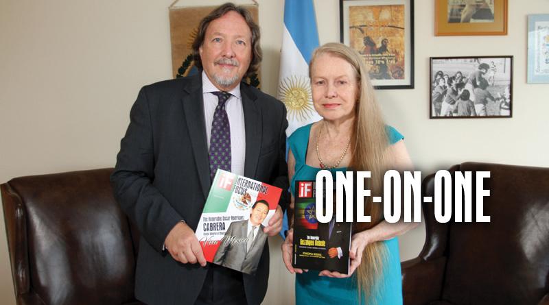 "Gabriel Volti, Consul General Of Argentina ""Land Of Silver"""