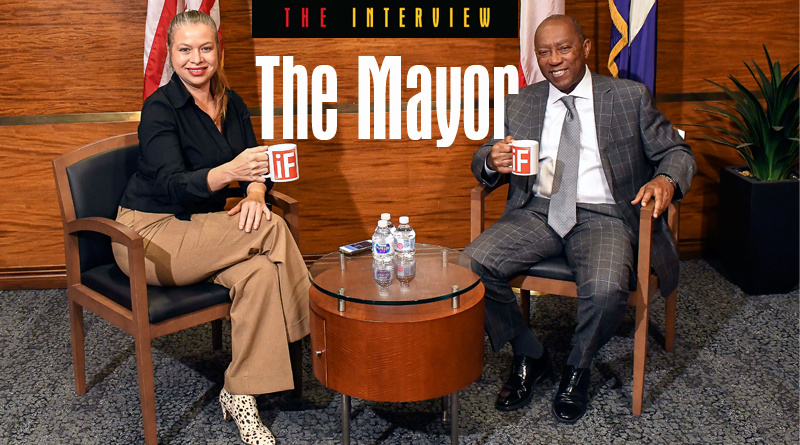 The Honorable Sylvester Turner, Mayor of the City of the Future