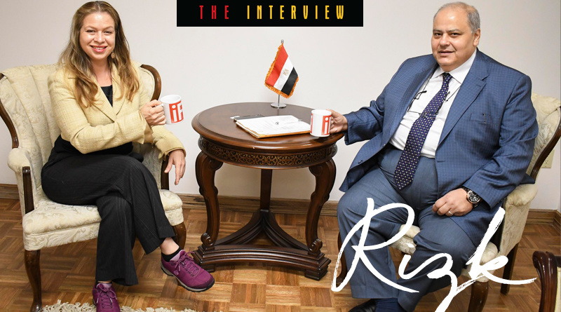 The Honorable Khaled Rizk Consul General of Egypt