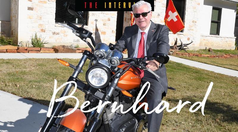 Honorary Consul General of Switzerland,  John Bernhard