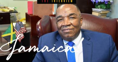 Honorary Consul of Jamaica Khalfani Omari Fullerton